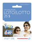 Pharmaprix Lotto $25