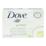 Dove Go Fresh Cool Moisture Beauty Bar Cucumber and Green Tea Scent 2X113g