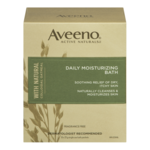 Aveeno Daily Moisturizing Bath Fragrance Free 21g x 8 Packets