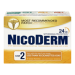 Nicoderm Clear Step 2 Nicotine Transdermal System Usp 14mg 7 Patches