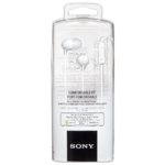 Sony Mdrex15Apw Mic & Remote for Smartphones Stereo Headphones White