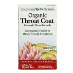 Traditional Medicinals Organic Throat Coat 20 Tea Bags