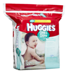 HUGGIES one and done Refreshing Lingettes Concombre et Thé Vert 184 Lingetttes