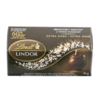 Lindt Lindor 60% Cocoa Chocolate Shell with a Delectably Smooth Centre Extra Dark 36g
