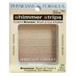 Physicians Formula Shimmer Strips Custom Bronzer, Blush & Eye Shadow Vegas Strip Light Bronzer 8.5g