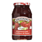 Smuckers Pure Strawberry Jam 500mL