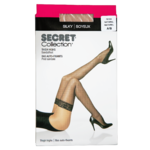 Secret Collection Soyeux Bas Auto-Fixants A/B Naturel 1 Paire