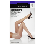 Secret Collection Soyeux Bas-Culotte C Culotte de Maintien Noir 1 Paire