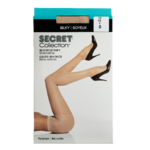 Secret Collection Silky Pantyhose D Reinforced Panty Nude 1 Pair