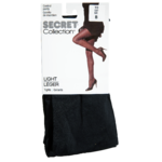 Secret Collection Léger Collants B Culotte de Maintien Noir 1 Paire