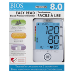 Bios Diagnostics Precision 8.0 Easy Ready Blood Pressure Monitor