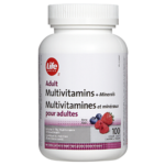 Life Brand Adult Multivitamins and Minerals Berry Flavour Chewable Tablets