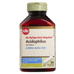 Life Brand Acidophilus with Bifidus Capsules - 6 Billion Active Cells