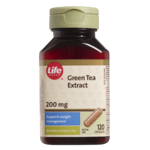 Life Brand Green Tea Extract 200mg Capsules