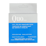 QUO Nail Polish Remover Pads Non-Acetone
