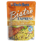 Uncle Ben's Bistro Express Rice Side Dish Long Grain & Wild - Roasted Chicken Flavour 250g