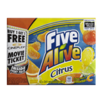 Minute Maid Five Alive Real Fruit Beverage Citrus 12X341mL