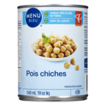 PC Menu bleu Pois Chiches 540mL