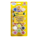 Crayola Washable Kid's Paint 18 Assorted Colours 88mL