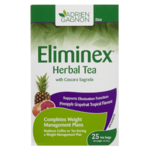 Adrien Gagnon Eliminex Herbal Tea with Cascara Sagrada Pineapple Grapefruit Tropical Flavour 25 Tea Bags 43.75 g