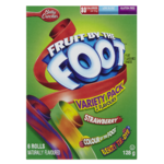 Betty Crocker Fruit by the Foot Fruit Flavoured Snacks Variety Pack 6 Rolls