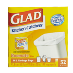 Glad Kitchen Catchers Roomate Size 52 Bags