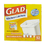 Glad Kitchen Catchers Grandeur Roomate 52 Sacs