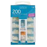 Nailene 200 Full Cover Nails Capsules Active Square