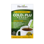 Herbion Naturals Cold & Flu Remedy Herbal Granules 10 Sachets