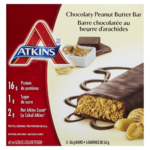 Atkins Bar Chocolaty Peanut Butter Bar 5 Bars x 55 g