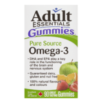 Adult Essentials Gummies Pure Source Omega-3 90 Gummies