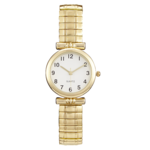 Precision Ladies Watch With Gold Expansion Band