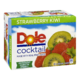 Dole Cocktail Made with Real Fruit Juice Strawberry Kiwi 12X340mL