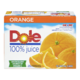 Dole 100% Juice Orange 12 x 340mL