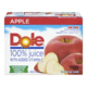 Dole 100% Juice with Added Vitamin C Apple 12 x 340mL