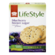Kraft Peek Freans Lifestyle Selections Biscuit Blueberry Brown Sugar