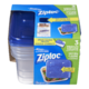 Ziploc Medium Square Containers 3 Pack