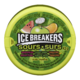 Ice Breakers Surs Menthes Pomme, Tangerine, Melon D'Eau 43g