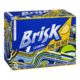 Lipton Brisk Lemon Iced Tea Natural Lemon Flavour 12 Cans x 355mL