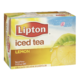 Lipton Iced Tea Natural Flavour Lemon 12 Cans x 355mL