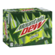Mountain Dew Carbonated Soft Drink Citrus Charge 12X355mL