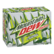 Mountain Dew Diet Carbonated Soft Drink Citrus Charge 12X355mL