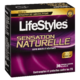 LifeStyles Natural Feeling Condoms de Latex Lubrifiés de Qualité Supérieure 36 Condoms