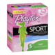 Playtex Sport Plastic Tampons Super Unscented 18 Tampons