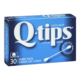 Q-tips Cotton Swabs 30 Swabs