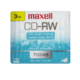 Maxell Cd-Rw Rewritable 700 Mb 80 Minutes 3 Pk