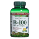 Nature's Bounty Time Release Vitamin B-100 Ultra B-Complex with Folic Acid 180 Coated Tablets