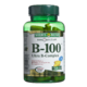 Nature's Bounty B-100 Ultra B-Complex with Folic Acid Time Release 100 Coated Tablets