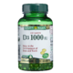 Nature's Bounty Vitamin D3 1000IU x 250 Softgels