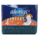 Always Ultra Thin de Nuit Flexi-Wings 14Serviettes